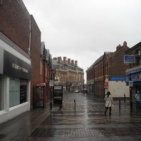 Cross Street, Altrincham - Gene Hunt