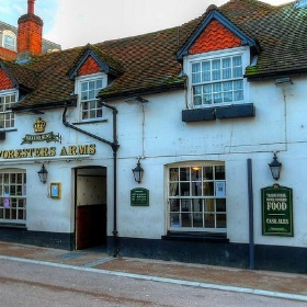 The Foresters Arms, Andover Hampshire - Mike Cattell