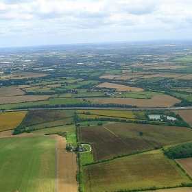 Oxfordshire from above - net_efekt