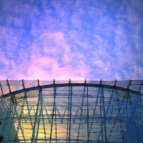 The Sky merges with the Bullring in Birmingham - England - December 2009 - Enjoy the color and the views!:) - UggBoy♥UggGirl [ PHOTO : WORLD : SENSE ]