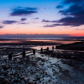 Dying Of The Light (Rossall Beach), Blackpool - flatworldsedge