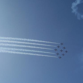 Red Arrows at Bournemouth - alexliivet
