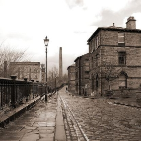 The old streets of Saltaire Village - Paul Stevenson