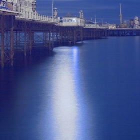 Brighton Pier by Moonlight - Dominic's pics