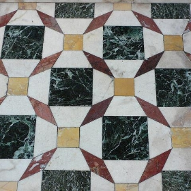 Marble floor at Bristol Cathedral - heatheronhertravels