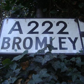 Bromley sign - satguru