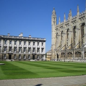 King's College grounds, Cambridge - maebmij