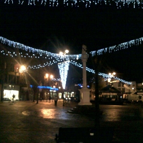 Xmas Lights in Carlisle - Neil Boothman