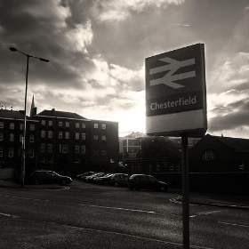 Chesterfield station and hotel. - ~Duncan~