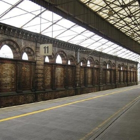 Train Station in Crewe, England - nickgraywfu