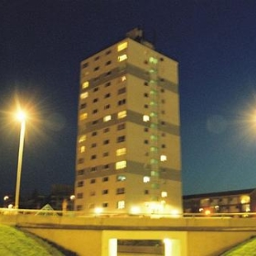 Night Tower Block - loumurphy