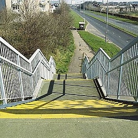 East Kilbride bridge steps - loumurphy