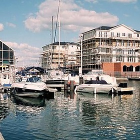 Eastbourne Harbour - Peter Curbishley