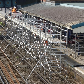 Sunday engineering works at Eastleigh - Martoneofmany