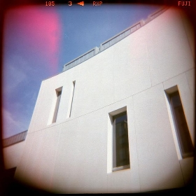 Holga Minimalism in Exeter - boliston