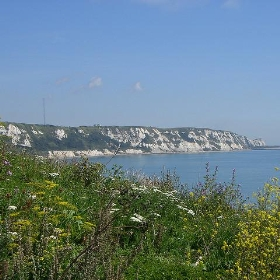 The Warren, Folkestone, and East Wear Bay - Between a Rock
