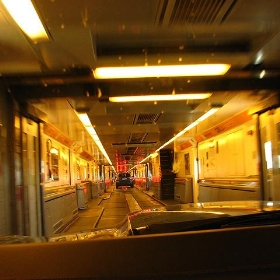 In the Channel Tunnel - jespahjoy