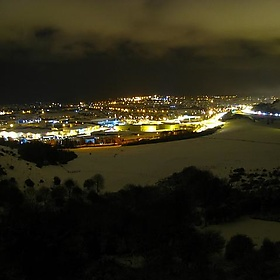 Folkestone at night - tobyct