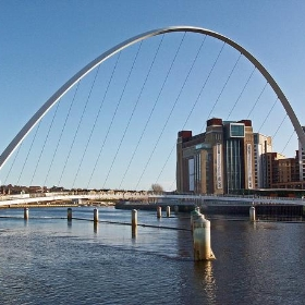 The Baltic, seen through Gateshead Millennium Eye - Mrs Logic