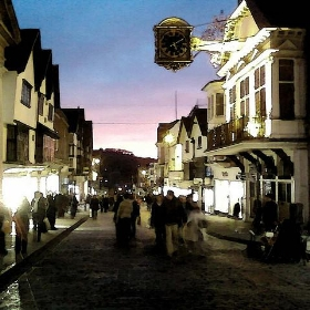 Guildford High Street at Sunset - Mike__Lawrence