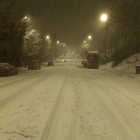 A404 Marlow Hill in Snow - Andy G