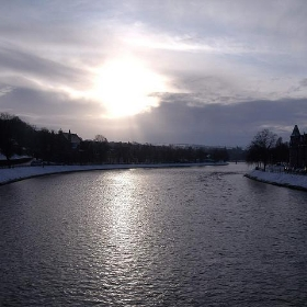 River Ness Inverness Scotland (High Noon in late December) - conner395