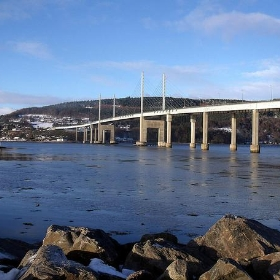 Kessock Bridge Inverness looking to Black Isle Scotland - conner395