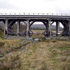 Aultnaslanach Railway Viaduct Moy Inverness Scotland - conner395