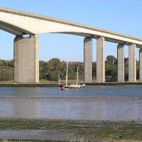 Orwell Bridge, Ipswich, UK - BBM Explorer