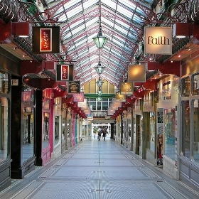 Queens Arcade, Leeds - Tim Green aka atoach