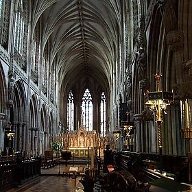 Lichfield Cathedral - Taking the Long View - srboisvert
