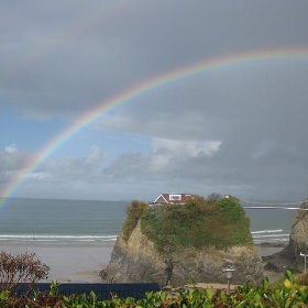 Rainbow in Newquay - David Jones