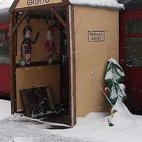 Railway in the Snow December 2009 (3) - Ben Coulson