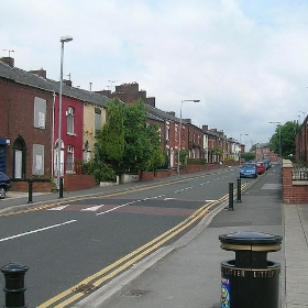Oxford Street, Oldham - Gene Hunt