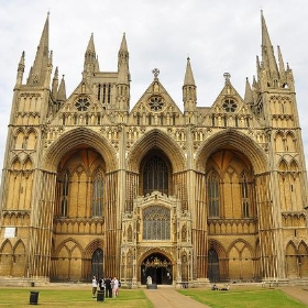 Front of Peterborough cathedral - Ben Sutherland