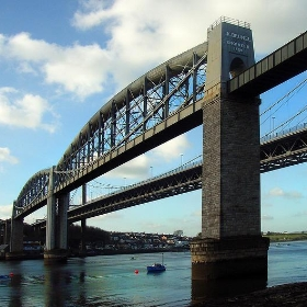 Tamar Bridges from Saltash Passage - didbygraham