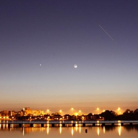 ISS over Poole Park - slideshow bob