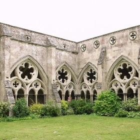 Cloisters, Salisbury Cathedral - stevecadman