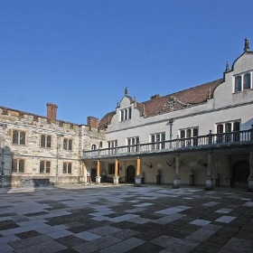 Knole inner courtyard - exfordy