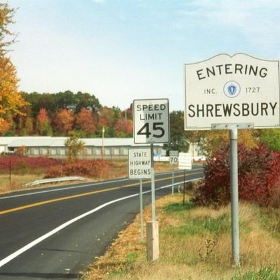 Entering Shrewsbury - Joe Shlabotnik