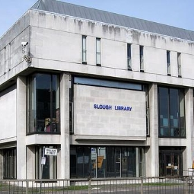 Slough Library. - Jim Linwood