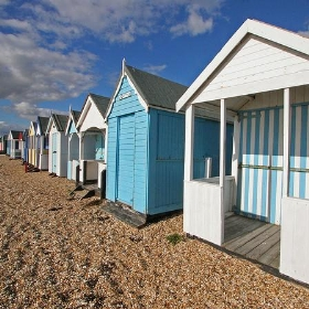 Beach huts, Southend on Sea - exfordy