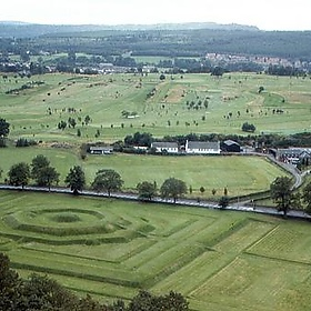 Stirling Castle - King's Knot Garden - roger4336