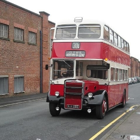 Another Stockport Corporation bus - Gene Hunt