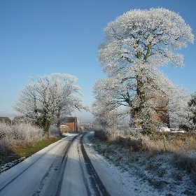 Hoar frost, Stourbridge,  22nd December 2009 - markpeate