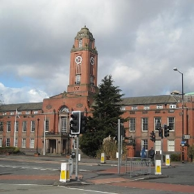 Trafford Town Hall, Old Trafford - Gene Hunt