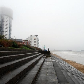 Sea, Sand and Mist - Chris P Jobling