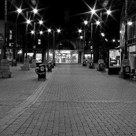 Walsall at Night - Park Street - Lee Jordan