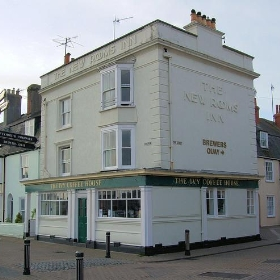 The New Rooms Inn (Ivy Coffee House), Weymouth. - Jim Linwood