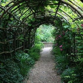 Flower arch in Winchester - jo-h